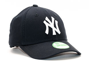 Dětská Kšiltovka New Era League New York Yankees Child Navy/White 9FORTY Strapback