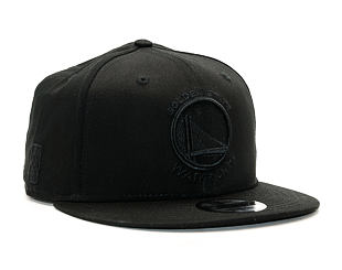 Kšiltovka New Era Black On Black Golden State Warriors Black 9FIFTY Snapback