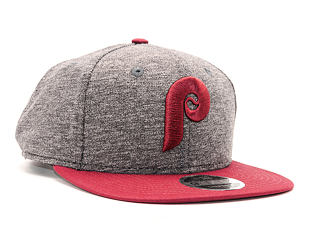 Kšiltovka New Era Jersey Mix Philadelphia Phillies 9FIFTY Grey/Red Snapback