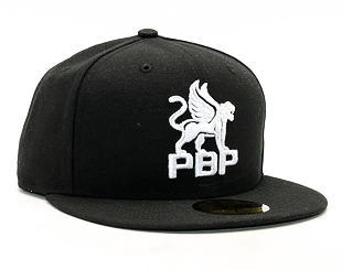 Kšiltovka Prague Black Panthers 2017 59FIFTY Black/White