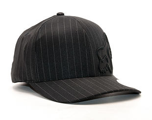 Kšiltovka FOX Flex 45 Flexfit Hat Black Pinstripe