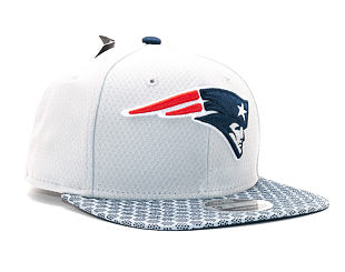 Kšiltovka New Era On Field NFL17 New England Patriots 9FIFTY Official Team Color Snapback