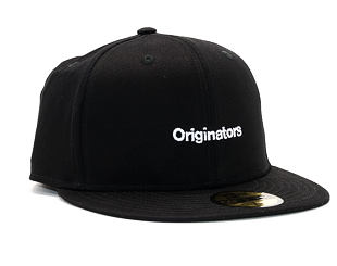 Kšiltovka New Era True Originators 59FIFTY Black/White