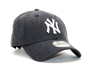 Kšiltovka New Era Seasonal Heather New York Yankees 9FORTY Heather Navy/White Strapback
