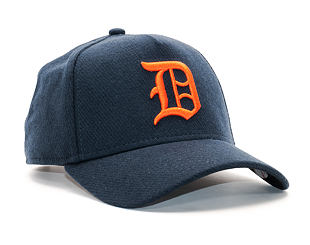 Kšiltovka New Era Club Coop A Frame Detroit Tigers 9FORTY Navy/Orange Snapback