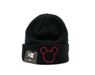 Dětský Kulich New Era Disney Knit Mickey Mouse Infant Black/Scarlet