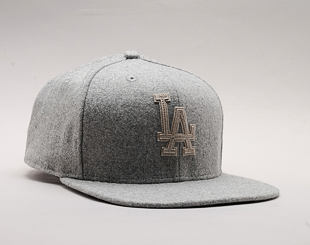 Kšiltovka New Era Melton Original Fit Los Angeles Dodgers 9FIFTY Gray Snapback