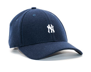 Kšiltovka New Era Mini Melton New York Yankees 9FORTY Light Navy/White Strapback