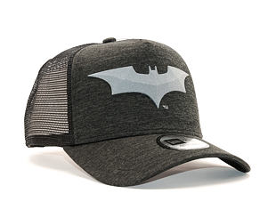 Kšiltovka New Era Trucker Concrete Jersey Batman 9FORTY Black/Grey Heather Snapback