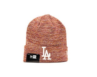 Kulich New Era Engineered Fit Cuff Knit Los Angeles Dodgers Cardinal/Grey