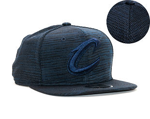 Kšiltovka New Era 9FIFTY Cleveland Cavaliers Original Fit Engineered Fit Navy/Black Snapback