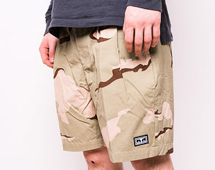 Kraťasy OBEY Fubar Pleated Camo Short Desert Camo 172100072-DEC