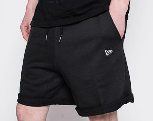 Kraťasy New Era Essential Shorts Black