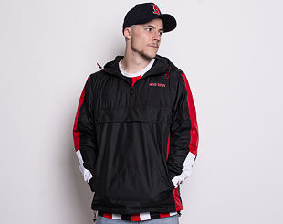 Bunda New Era Contemporary Windbreaker Black/White/Scarlet