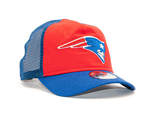 Dětská Kšiltovka New Era 9FORTY Trucker New England Patriots Toddler FRD / Oceanside Blue Snapback