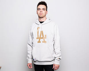 Mikina New Era Seasonal Team Logo Hoody Los Angeles Dodgers Stone
