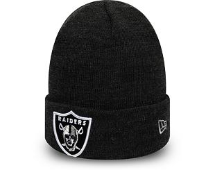 Kulich New Era Oakland Raiders Heather Eassential Knit