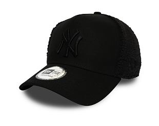 Kšiltovka New Era 9FORTY New York Yankees A-Frame Sherpa Black