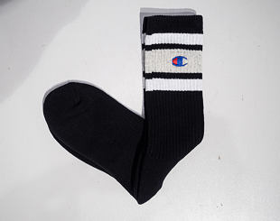 Ponožky Champion Crew Socks Black