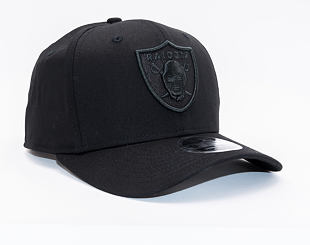 Kšiltovka New Era 9FIFTY Oakland Raiders Stretch Snap Tonal Black