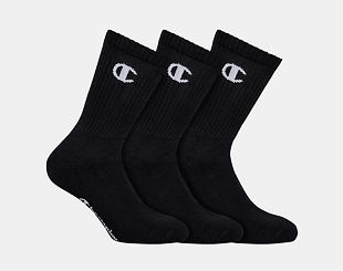 Ponožky Champion 3P CREW SOCKS LEGACY Black