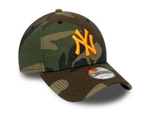 Kšiltovka NEW ERA 940 MLB Camo Neon Infill Essential New York Yankees