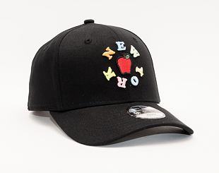 Dětská Kšiltovka New Era 9FIFTY Kids Stretch Snap NY Apple 9FIFTY Black