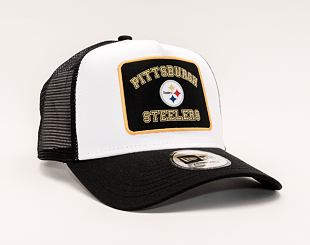 Kšiltovka New Era 9FORTY A-FRAME Trucker NFL Graphic Patch Pittsburgh Steelers Team Color