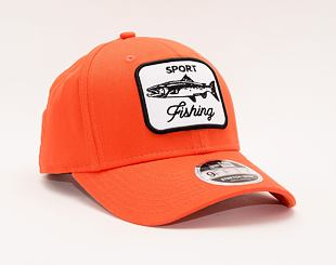 Kšiltovka New Era 9FIFTY Stretch Snap Outdoors Safety Orange