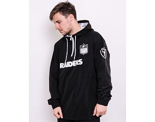 Bunda New Era NFL 1/4 Zip Windbreaker Oakland Raiders Black