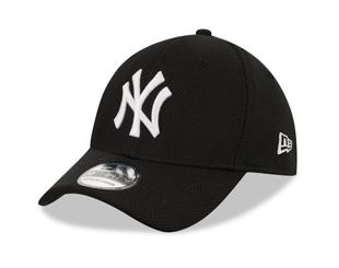 Kšiltovka NEW ERA 39THIRTY MLB Diamond Era New York Yankees Stretch Fit Black / Optic White
