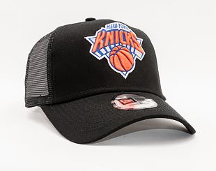 Kšiltovka New Era 9FORTY A-FRAME Trucker NBA Dark Base Team New York Knicks Black