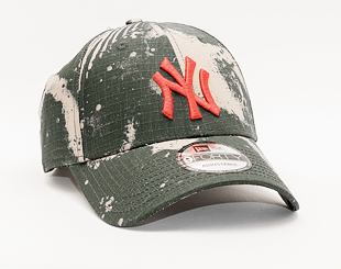 Kšiltovka New Era 9FORTY MLB Blurr Camo 9FORTY New York Yankees Brown