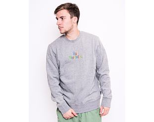 Mikina HUF Woz Pullover Grey Heather