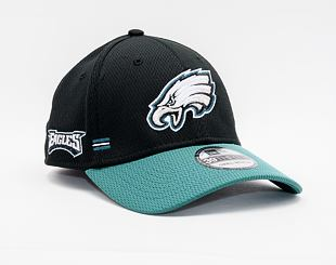 Kšiltovka New Era 39THIRTY NFL20 Sideline Home Philadelphia Eagles Stretch Fit Team Color