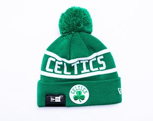 Kulich New Era NBA Team Jake Bobble Cuff Knit Boston Celtics