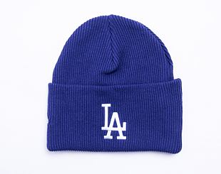 Kulich New Era MLB Wordmark Cuff Knit Los Angeles Dodgers Dark Royal