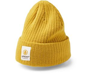Kulich Upfront Stranded Beanie Yellow
