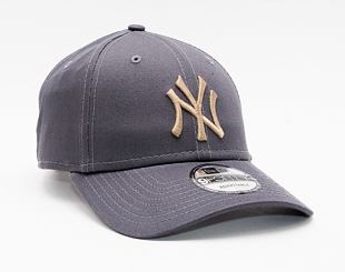 Kšiltovka New Era 9FORTY Color Essential New York Yankees Strapback Graphite / Wheat