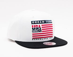 Kšiltovka Mitchell & Ness 1992 Dream Team Flag Snapback Team USA