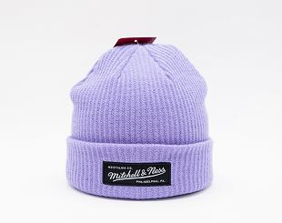 Kulich Mitchell & Ness Box Logo Cuff Knit Purple