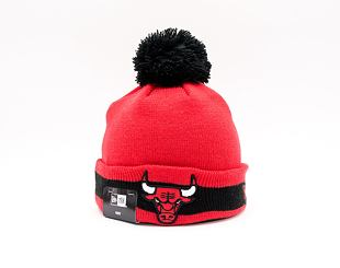 Dětský kulich New Era NBA Character stripe Knit Chicago Bulls