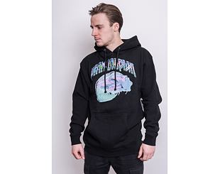 Mikina Pink Dolphin Sunset Craft Hoodie Black