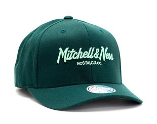 Kšiltovka Mitchell & Ness Pinscript High Crown 110 Forest/Mint Snapback