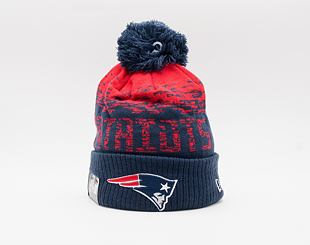 Kulich New Era NFL Sport Knit Cuff New England Patriots  Team Color