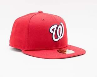 Kšiltovka New Era 59FIFTY MLB Authentic Performance Washington Nationals Fitted Team Color