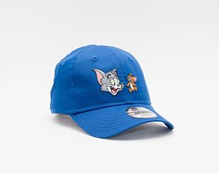 Kšiltovka New Era 9FORTY Kids Tod film Character Tom & Jerry Strapback Blue Azure