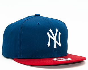 Kšiltovka New Era 9FIFTY Cotton Block New York Yankees Snapback Light Royal / Scarlet