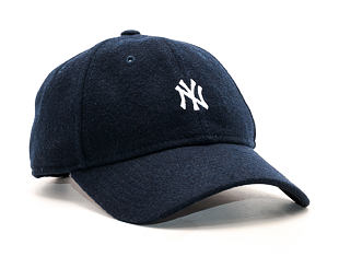 Kšiltovka New Era Melton Mini Classic New York Yankees Navy 9TWENTY Strapback