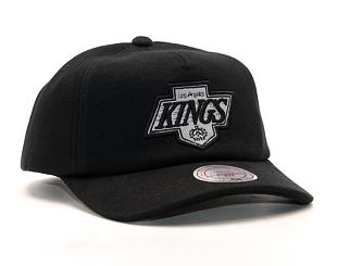Kšiltovka Mitchell & Ness Throwback Los Angeles Kings Black Snapback